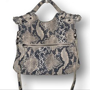 Pietro Alessandro snake print leather bag❤️